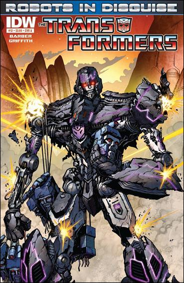 Transformers: Robots in Disguise 12-A by IDW