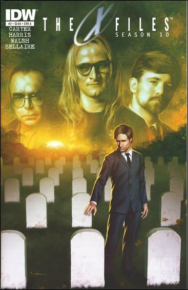 X-Files: Season 10 2-A by IDW