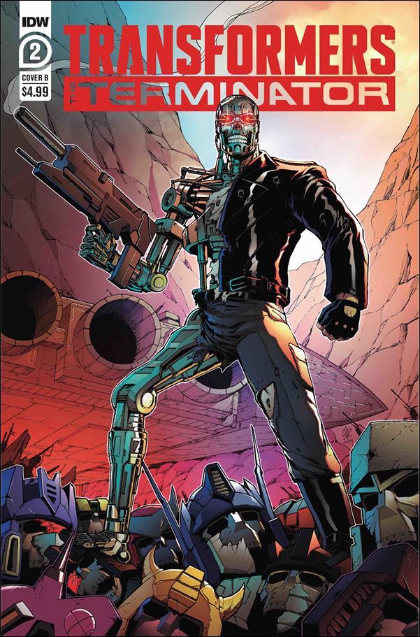 Transformers vs The Terminator 2-B by IDW