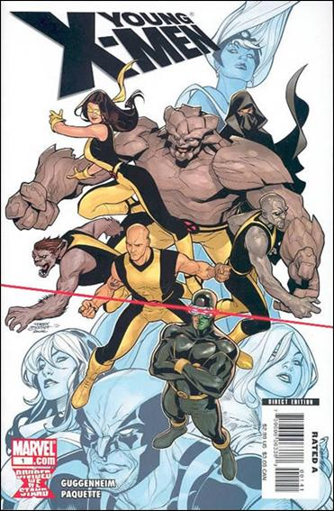 Young X-Men 1-B by Marvel