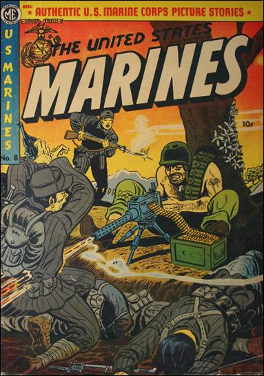 United States Marines 8-A by Magazine Enterprises