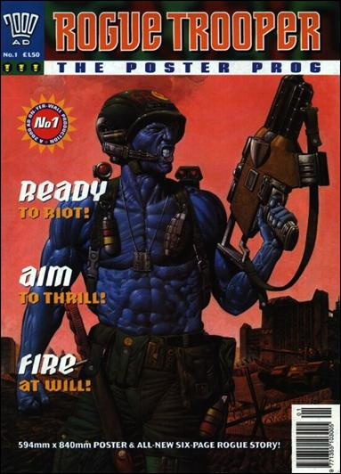 Rogue Trooper The Poster Prog 1-A by Fleetway
