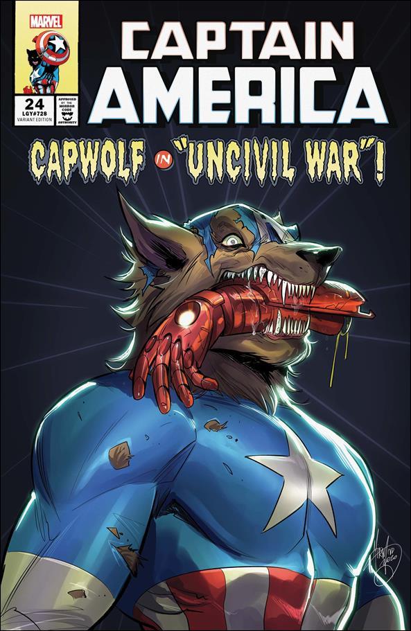 Captain America (2018) 24-B by Marvel