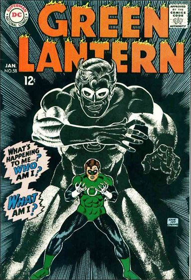 Green Lantern (1960) 58-A by DC