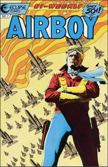 Airboy (1986) 7-A by Eclipse