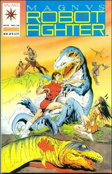 Magnus Robot Fighter (1991) 12-A by Valiant