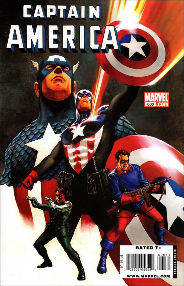 Captain America (1968) 600-A by Marvel