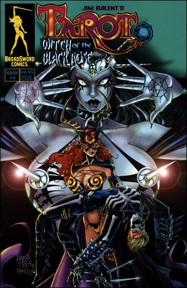 Tarot: Witch of the Black Rose 4-A by BroadSword Comics