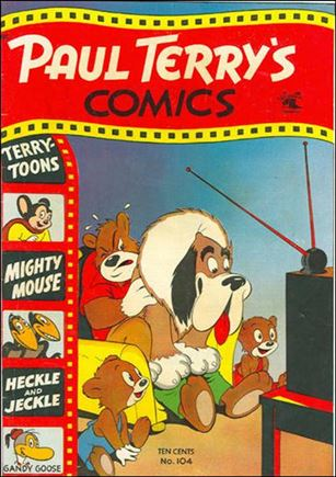 Paul Terry's Comics 104-A