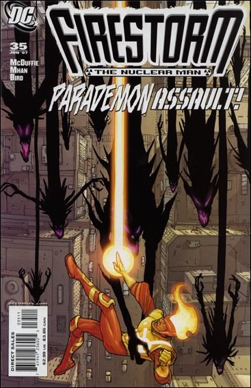 Firestorm: The Nuclear Man (2006) 35-A by DC