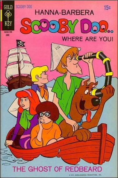 Scooby Doo, Where Are You? (1970) 6-A by Gold Key