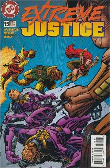 Extreme Justice 15-A by DC