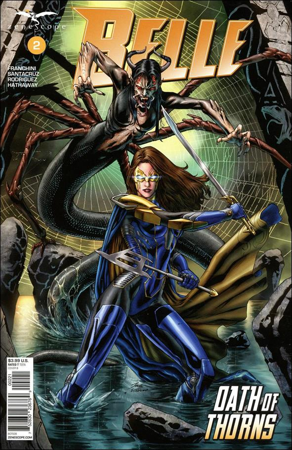 Belle: Oath of Thorns 2-B by Zenescope Entertainment