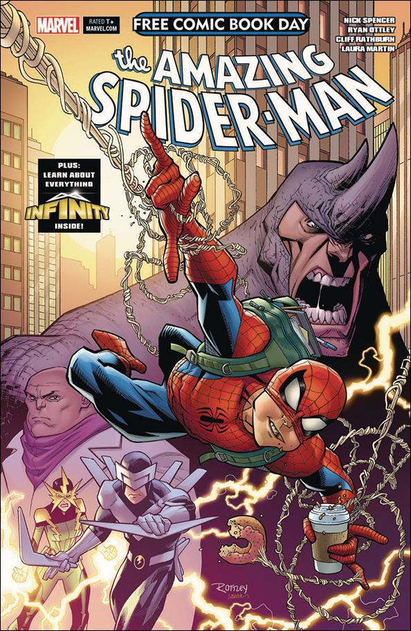 Free Comic Book Day 2018 (Amazing Spider-Man/Guardians of the Galaxy) 1-A by Marvel