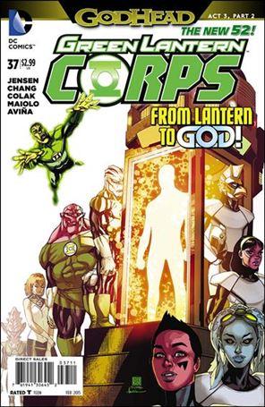 Green Lantern Corps (2011) 37-A