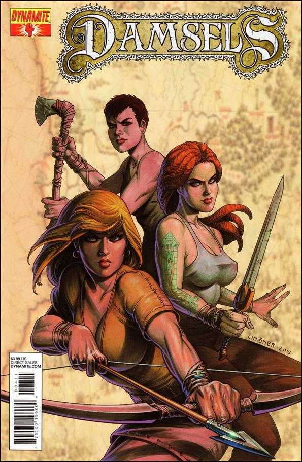 Damsels 4-A by Dynamite Entertainment