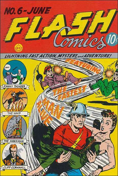 Flash Comics (1939) 6-A by DC