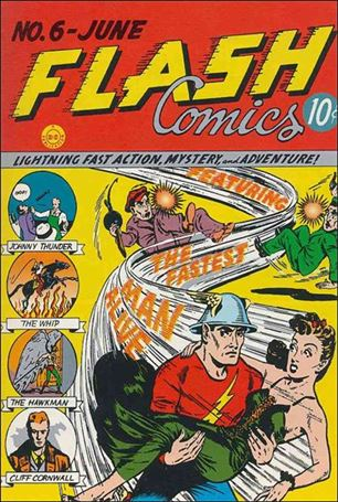 Flash Comics (1939) 6-A