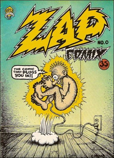 Zap Comix 0-B by Last Gasp