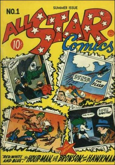 All Star Comics (1940) 1-A by DC
