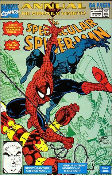 Spectacular Spider-Man Annual 11-A by Marvel
