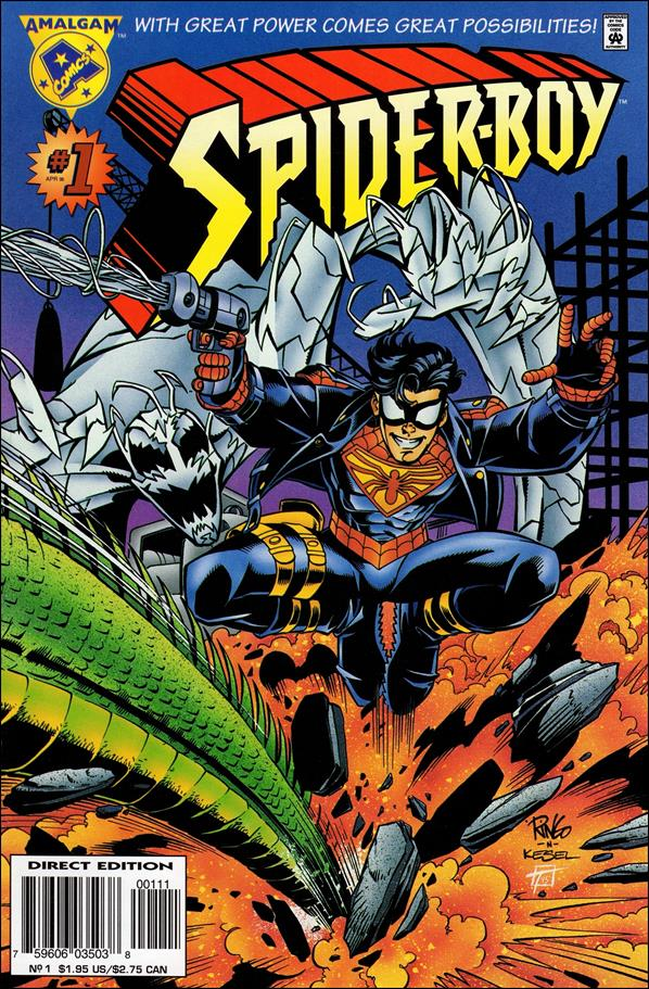 Spider-Boy 1-A by Amalgam