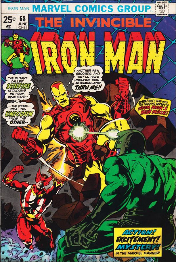 Iron Man (1968) 68-A by Marvel