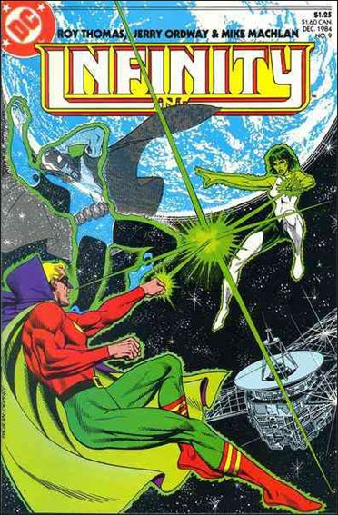Infinity Inc. (1984) 9-A by DC