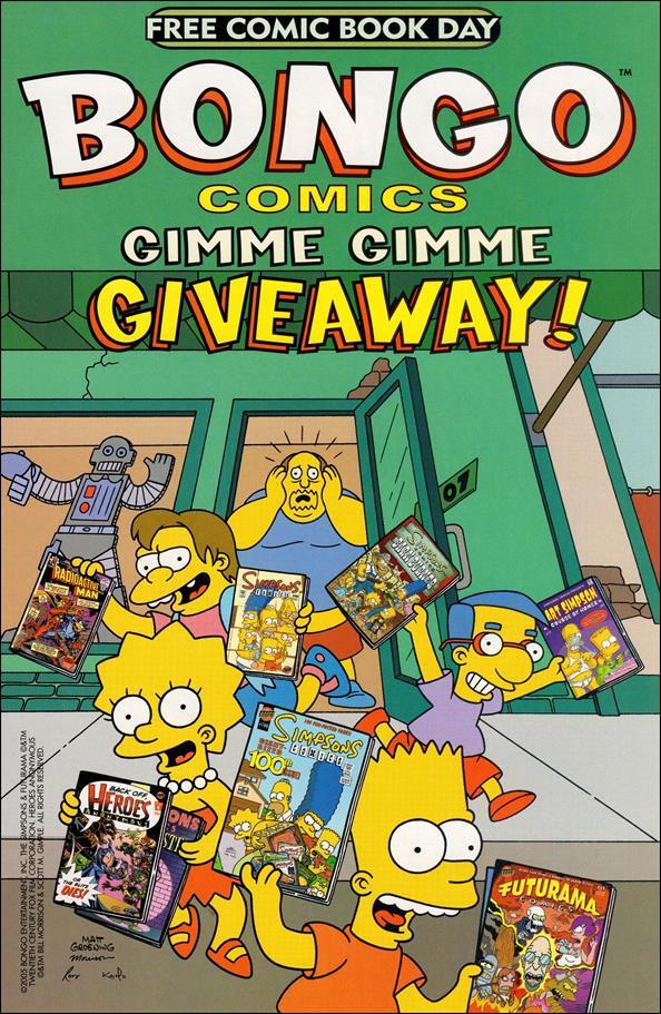 Bongo Comics Gimme Gimme Giveaway! nn-A by Bongo