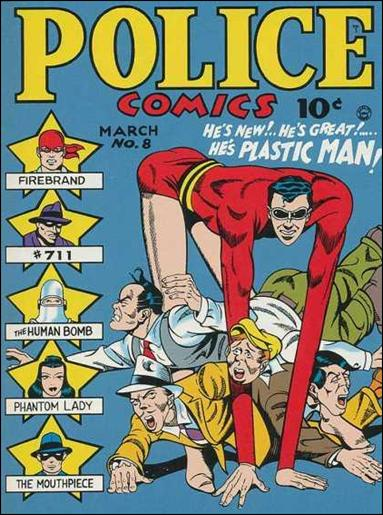Police Comics 8-A by Comic Magazines
