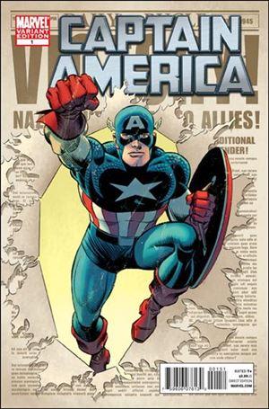 Captain America (2011) 1-B