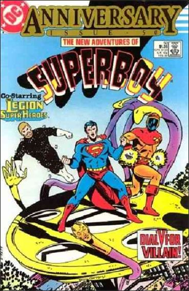 New Adventures of Superboy 50-A by DC