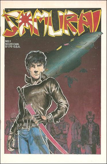 Samurai (1986) 1-A by Aircel
