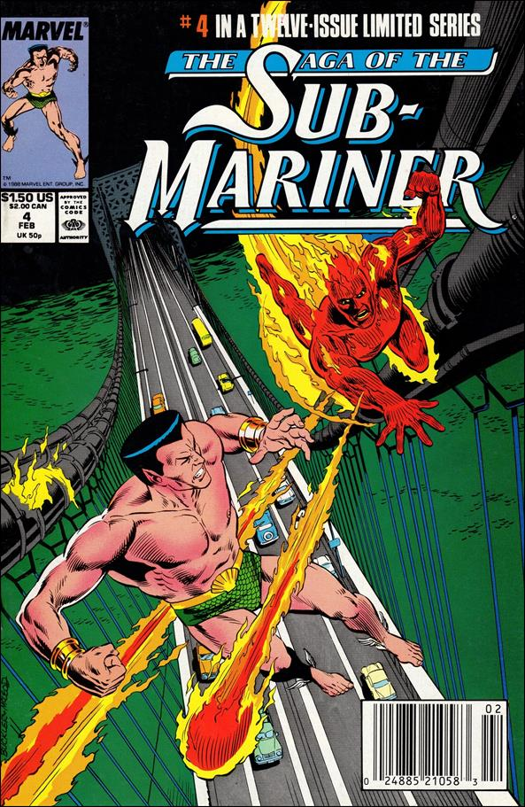Saga of the Sub-Mariner 4-A by Marvel