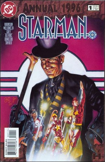 Starman Annual 1-A by DC