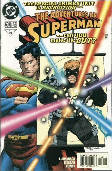 Adventures of Superman (1987) 569-A by DC
