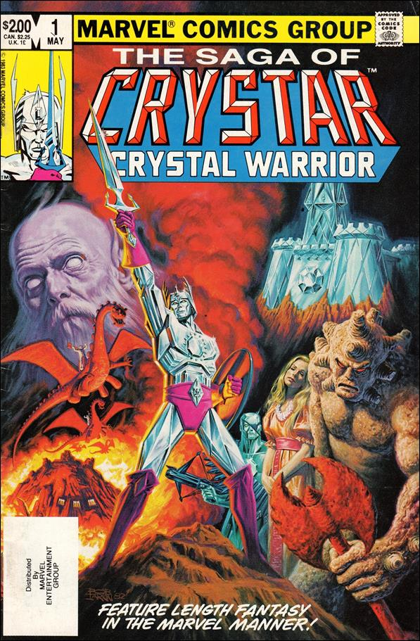 Saga of Crystar Crystal Warrior 1-A by Marvel