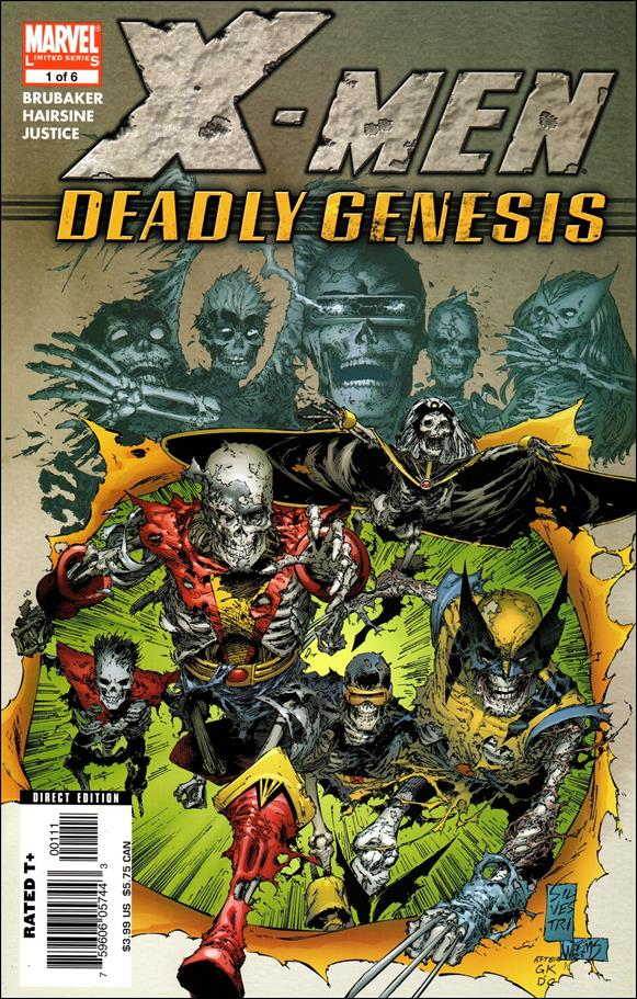 X-Men: Deadly Genesis 1-A by Marvel