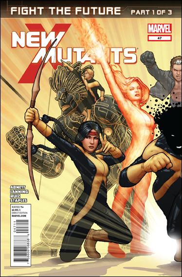 New Mutants (2009) 47-A by Marvel