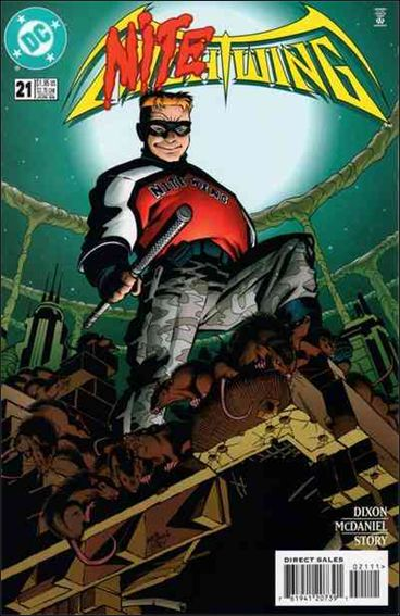Nightwing (1996) 21-A by DC
