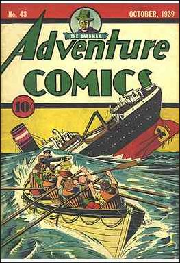 Adventure Comics (1938) 43-A by DC