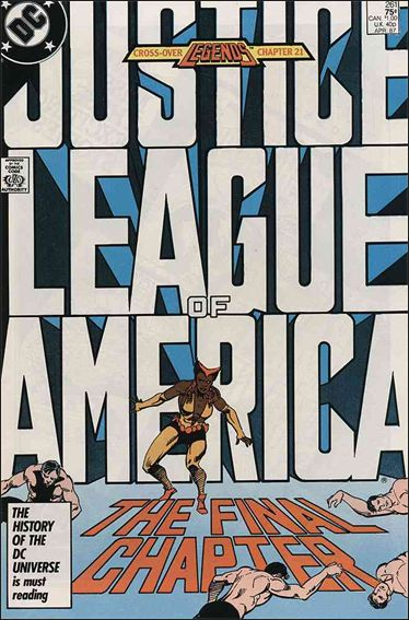 Justice League of America (1960) 261-A by DC
