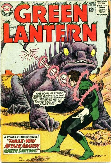 Green Lantern (1960) 34-A by DC