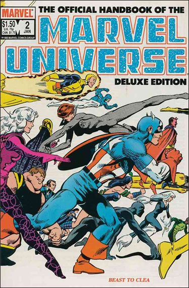 Official Handbook of the Marvel Universe (1985) 2-A by Marvel