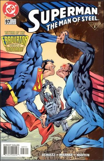 Superman: The Man of Steel 97-A by DC