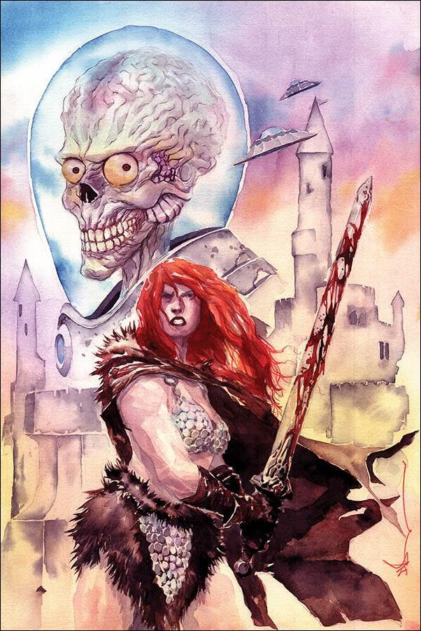Mars Attacks Red Sonja 1-T by Dynamite Entertainment