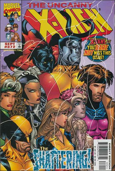Uncanny X-Men (1981) 372-A by Marvel