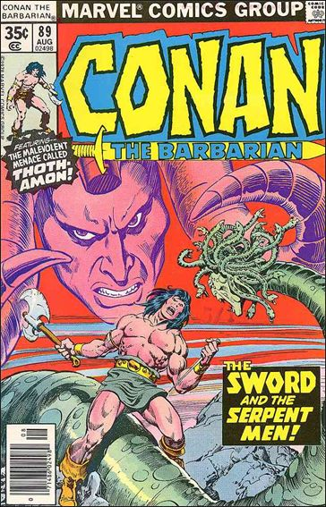 Conan the Barbarian (1970) 89-A by Marvel