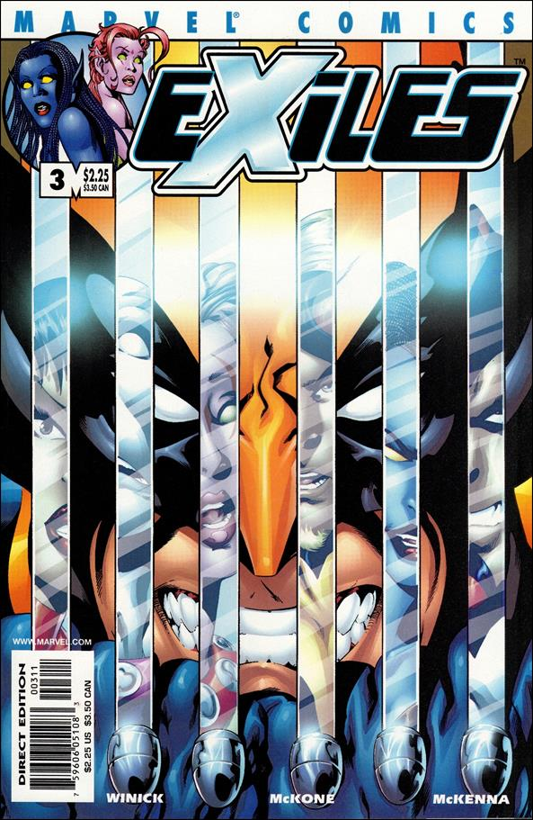 Exiles (2001) 3-A by Marvel