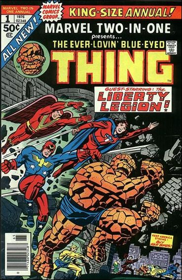 Marvel Two-In-One Annual 1-A by Marvel